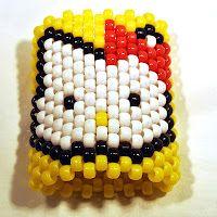 Hello Kitty Cuff #kandi #hellokitty #beads #bracelet