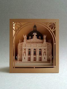 Lviv Opera & Ballet House. Tunnel Post Card.