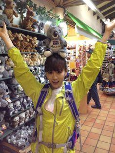 "Atsuko Maeda's ""new"" face #AKB48"