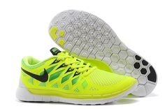 Nike Free 5.0+ 2014 Mens Fluorescence Yellow Training Shoes