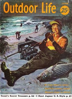 Fishing for History: The History of Fishing and Fishing Tackle: Deconstructing Old Ads: The Heddon River Runt Spook Part IV Sport Fishing, Gone Fishing, Fishing Lures, Fishing Tackle, Fishing Magazines, Fishing Books, Caricatures, Vintage Posters, Vintage Ads