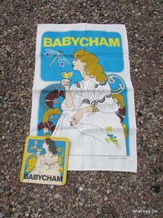 Fab Babycham teatowel in unused vintage condition. Contemporary Artists, Tea Towels, Textiles, Vintage, Dish Towels, Vintage Comics, Primitive, Textile Art, Kitchen Towels