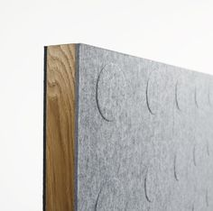 In designing her elegant Doremi screen, Nina Jobs was keenly sensitive to the unique expression of each of its materials. Acoustic Panels, Different Textures, Office Accessories, School Colors, Kids Store, Office Furniture, Color Inspiration, Interior, Birken