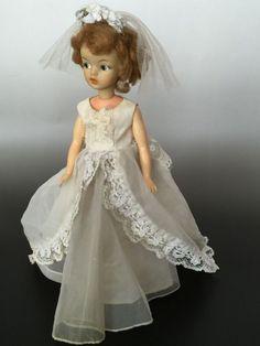 Vintage Tammy Doll Japanese Exclusive Wedding Dress with Veil RARE | eBay