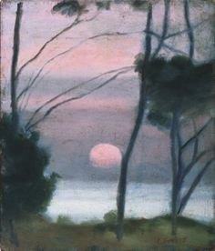 Clarice Beckett, Evening light, Beaumaris (1925) - Google Search