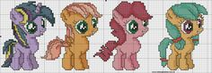 schema bordura little pony