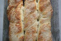 Baguette - Passion For baking Tasty Bread Recipe, Bread Recipes, Cooking Recipes, Bread In Bag, Greek Appetizers, Herb Bread, Good Food, Yummy Food, Vegan Bread