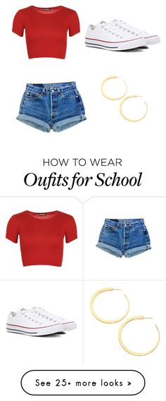 """Untitled #4"" by isabelfish on Polyvore featuring WearAll, Converse and Vita Fede"