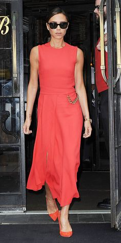 Look of the Day - June 11, 2014 - Victoria Beckham in Victoria Beckham from #InStyle