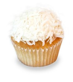 vanilla coconut. vanilla cupcake with a coconut cream cheese frosting...My very favorite cupcake!