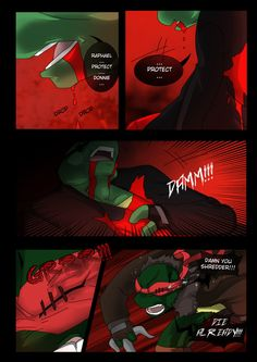 TMNT (fanmade) Same as it never was Aftershock _48 by FleshCreature on DeviantArt