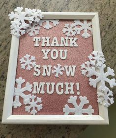 Thank you sign to accompany the goody bags. It's in keeping with the pink winter. - Thank you sign to accompany the goody bags. It's in keeping with the pink winter onederland theme - First Birthday Winter, Winter Birthday Parties, 1st Birthday Party For Girls, 1st Birthday Themes, Baby First Birthday, Birthday Ideas, Birthday Photos, Birthday Gifts, 1st Birthday Princess