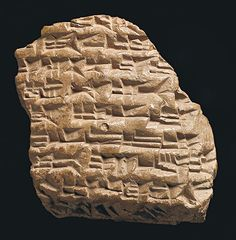 Tablet with letter to Assyrian King Esarhaddon, 680-669 B.C.  London, British Museum, inv. K13174