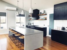 Indoor and outdoor concrete kitchen benchtops, concrete vanity tops, concrete table tops and much more.