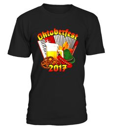 Oktoberfest 2017 T-Shirt Beer Accordion Brats Pretzels  #womensfashion #menfashion $tshirt #fashion