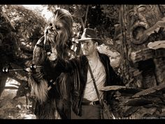 Chewie's got Indy's back.