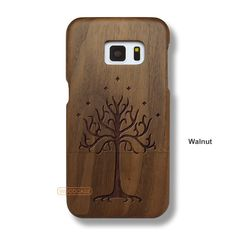 Tree Galaxy S7 Case - Galaxy S7 Solid Total Wood Case - SDTRE0006