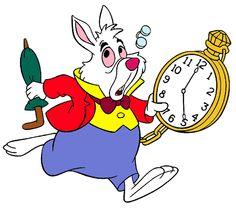Alice in wonderland white rabbit