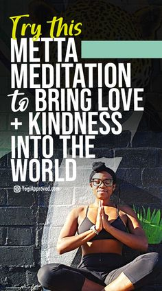 Guided Metta Meditation to Bring More Love and Kindness Into the World Meditation For Stress, Meditation Videos, Yoga Videos, Guided Meditation, Ways To Reduce Anxiety, How To Relieve Stress, Monkey Mind, Aerial Dance, Workouts For Teens