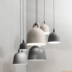Bell | Lampada a sospensione in alluminio, diversi colori e misure disponibili
