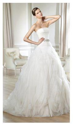 Wedding Dresses 2014 White One Style Noray [noray]
