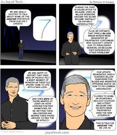 iOS 7 statistics