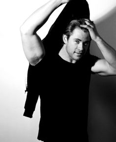 Chris Hemsworth. Perfection has been reached.