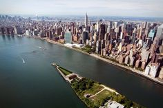 Four Freedoms Park aerial view. Credit: Chris Shelley.