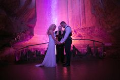 Maybe just for pictures.     www.chattanoogaweddingofficiants.com Congratulations to Mr. and Mrs. Delp, joined in matrimony at Chattanooga's magnificent Ruby Falls. Thanks to the couple for a truly magical moment, and for sharing these stunning shots of the ceremony. January 25, 2015.