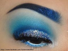 Ice Queen by Yumemi S.  Pretty much along the lines of one of my planned looks for 1 out of 3 nights.