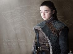 """108 Likes, 2 Comments - Crisisenvyart (@crisisenvyart) on Instagram: """"Arya Stark This took a long time to draw. Arya is such a powerful character portrayed beautifully…"""""""