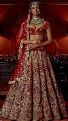 Indian bridal lehenga by Sabyasachi