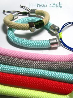 Cord Bracelets, Cords, Climbing, Website, Jewelry, Ropes, Bijoux, Electrical Cable, Mountaineering