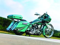 Custom bagger   Tags: Choppers. Custom Motorcycles , Custom Baggers , SEMA Show ...