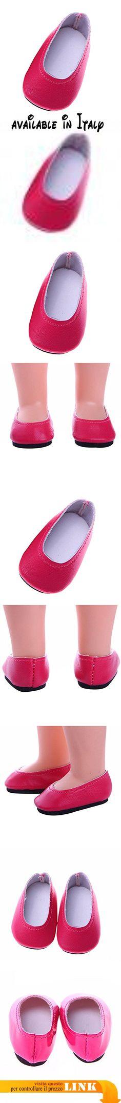 Sharplace Coppie Di Pattini Scarpe Pale Slip On Piane Sandali Pantafole Fashion Accessori Per Bambola 14