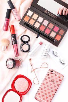 Beautiful makeup flatlay