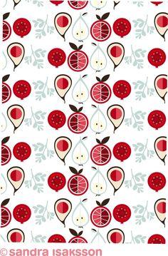 Stunning Background Patterns For Your Websites noupe Textiles, Textile Patterns, Textile Design, Print Patterns, Pattern Designs, Floral Patterns, Food Patterns, Fruit Art, Pattern Illustration