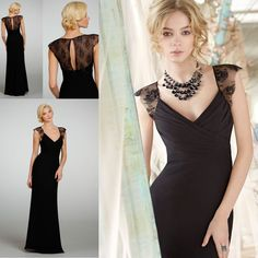 cap sleeved gown with button on back | ... Dress for Juniors-in Bridesmaid Dresses from Apparel & Accessories on