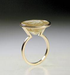 Rutile Quartz Solitaire Ring – elacindoruknazanpak