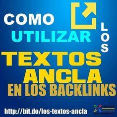 Toma nota con este #seo #tip: Cómo utilizar los textos ancla al hacer #linkbuilding. Lee más en: http://ift.tt/2mUDbx1