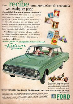 Ford Falcon 1960 Ad.