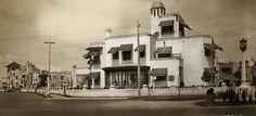 En la colonia Hipódromo existieron múltiples ejemplos de arquitectura estilo colonial californiano. Muchos de ellos aún subsisten.