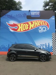 """VW Polo 180 TSI on 17 inch HSR Wheels """"Eins"""" #vwpolo #vwpolography #VolkswagenPolo Audi, Porsche, Vw Gol, Volkswagen Polo, Vw Cars, Play Golf, Car Decals, Bugatti, Cars And Motorcycles"""