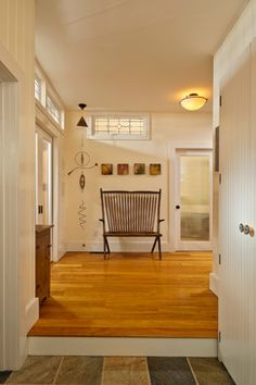 LEED Platinum home - farmhouse - Entry - New York - Phinney Design Group