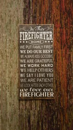 In this Firefighter Home. Firefighter by CreationsByNicolette