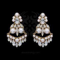 Click here to discover more....http://www.alexandramay.com/products/anton-heunis-gold-metropolis-pearl-and-crystal-tier-earrings-mpt3-14?utm_campaign=social_autopilot&utm_source=pin&utm_medium=pin