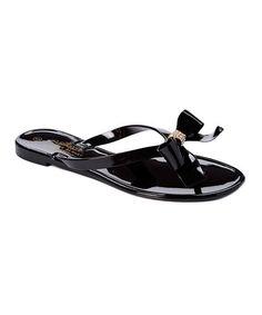 57d0f5d0432f15 Charles Albert Black Bow Flip-Flop. FlippingBowsBow Flip FlopsSandalsArchesSlide  SandalsShoes ...