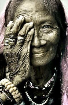 With mirth and laughter let old wrinkles come.  William Shakespeare [Merchant Of Venice]    Photo credit: Unknown
