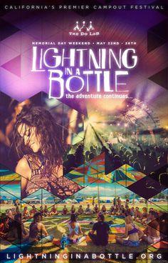 Lightning in a Bottle 2014 Poster