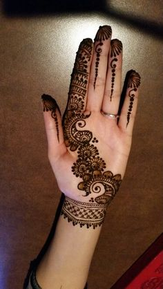 New Bridal Mehndi Designs Hands India 24 Ideas Finger Henna Designs, Simple Arabic Mehndi Designs, Full Hand Mehndi Designs, Mehndi Designs For Beginners, Mehndi Designs For Fingers, New Bridal Mehndi Designs, Beautiful Henna Designs, Latest Mehndi Designs, Stylish Mehndi Designs